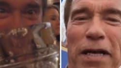 VIDÉO - Arnold Schwarzenegger s'éclate à