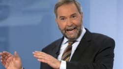 Mulcair Attacks Rivals On Niqab Issue At French