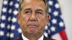 Démission du président républicain de la