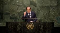 François Hollande à l'ONU en mode VRP de la