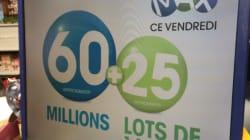 Lotto Max: gros lot record de 60 millions $, à qui la