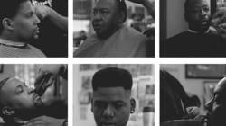 Fotógrafo captura a essência das barbearias negras da Califórnia em gifs