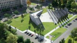 Monument aux victimes du communisme: le plan initial