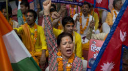Anti-India Protests Erupt In Nepal As Fuel Rationing