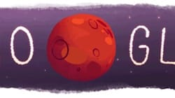 Google Doodles Adorable Mars Sipping Water To Mark Landmark