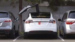 La Tesla X propose un bouton de «défense» en cas d'attaque biologique