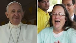 Il Papa all'impiegata che si rifiutò di celebrare le nozze gay: