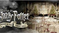 A Natale cenate con Harry Potter nella Sala