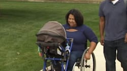 Teen Invents Wheelchair Stroller For Mom With