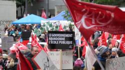 Grève de trois jours pour les enseignants du primaire et du secondaire de la