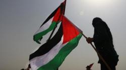 Le drapeau palestinien hissé à