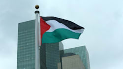Palestinian Flag Raised At UN For The First