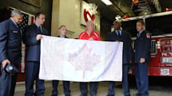 Canadians In NYC Pay Tribute To American