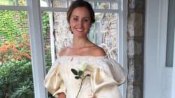 Todo el mundo ha visto este vestido de 120 años de antigüedad, excepto una