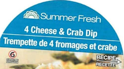 Summer Fresh Crab Dip Recalled From Stores Due To Listeria