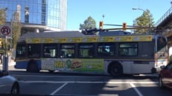 Bus' Excruciating Nine-Point Turn Includes Crash Into