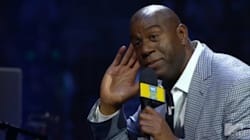 Magic Johnson Riles Up Blue Jays