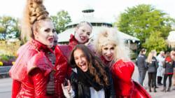 Styles de soirée: le tapis noir de La Ronde pour Halloween très VIP