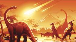 Une météorite et des éruptions volcaniques ont mis fin aux