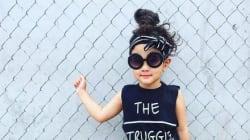 À seulement quatre ans, Danielle est une star d'Instagram