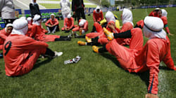 Eight Of Iran's Women's Football Team Are Actually