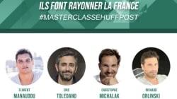 Une master classe HuffPost exceptionnelle à Paris
