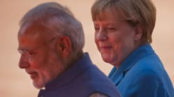 Twitter Is Abuzz With Angela Merkel And Narendra Modi's Matching Blue
