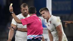 Le staff anglais accusé d'avoir approché les arbitres lors