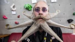 Le championnat mondial de barbes et moustaches: un concours poilu!