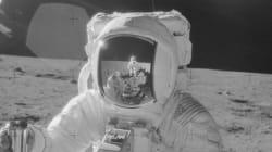 Apollo Astronauts' Amazing Photo