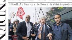 Les violences à Air France à la une de la presse