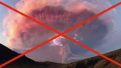 Les images hallucinantes de l'orage volcanique étaient