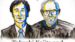 Le Nobel de physique au Japonais Takaaki Kajita et au Canadien Arthur