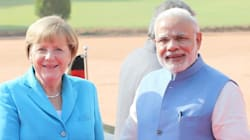 In Photos : German Chancellor Angela Merkel's Visit To