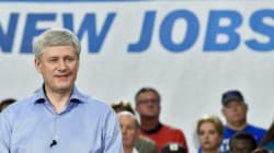 Harper Hypes Up TPP Deal On Campaign