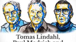 Le Nobel de chimie à trois chercheurs pour des travaux sur l'ADN