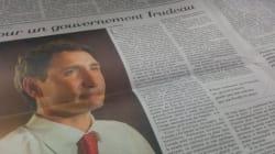 La Presse Endorses Trudeau's