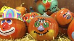 No-Carve (I.e. No Mess) Pumpkins Perfect For