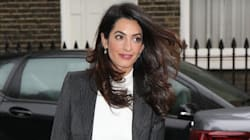 Amal Clooney Continues To Be A Boss, Slays In Power