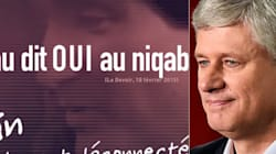 Harper Releases Niqab Ad After Saying Rivals Made Niqab An