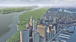 Voici le site de New York, il y a 400