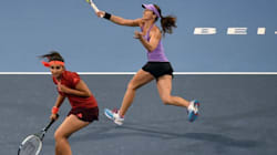 Sania Mirza, Martina Hingis Advance In China Open Women's Doubles