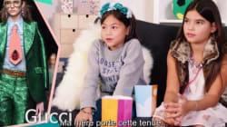 Les semaines de mode, vues par les enfants