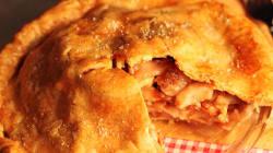 Tarte aux pommes, bacon, cheddar fort et sirop d'érable signé Max