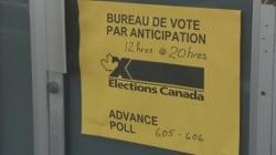 Le vote par anticipation en forte
