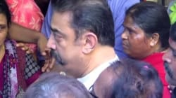 WATCH: Actor Kamal Haasan On The Verge Of Tears, Paying Last Tribute To 'Aachi'