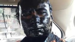 Suspected Shiv Sainiks Smear Black Ink On Organiser Sudheendra Kulkarni's Face On Day Of Kasuri Book