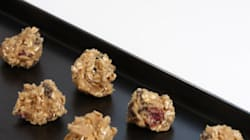 Raw Oatmeal Raisin Cookie