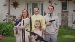 « Gun bless America »: Mettre un peu d'humour sur une triste réalité