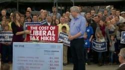 Les libéraux vous enlèveront de l'argent, menace Harper